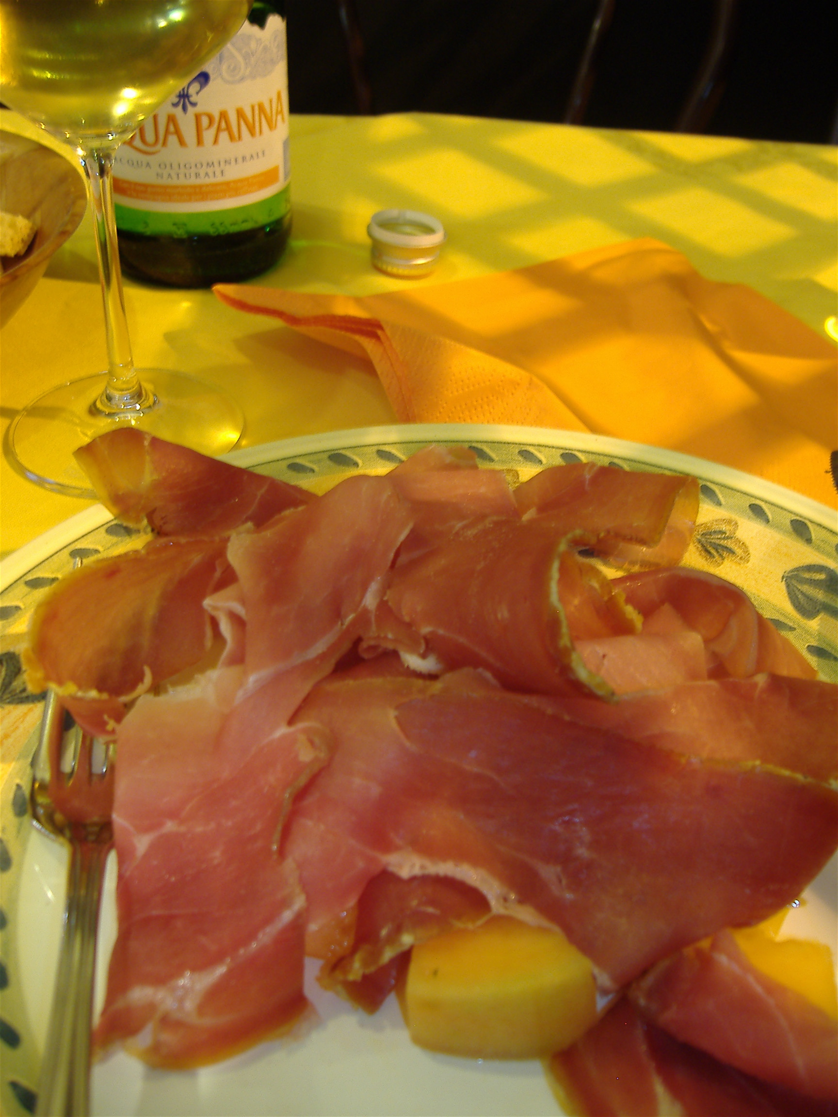 Prosciutto & Melon - Florence, Italy