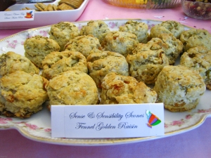 Sense & Sensibility Fennel & Golden Raisin Scones