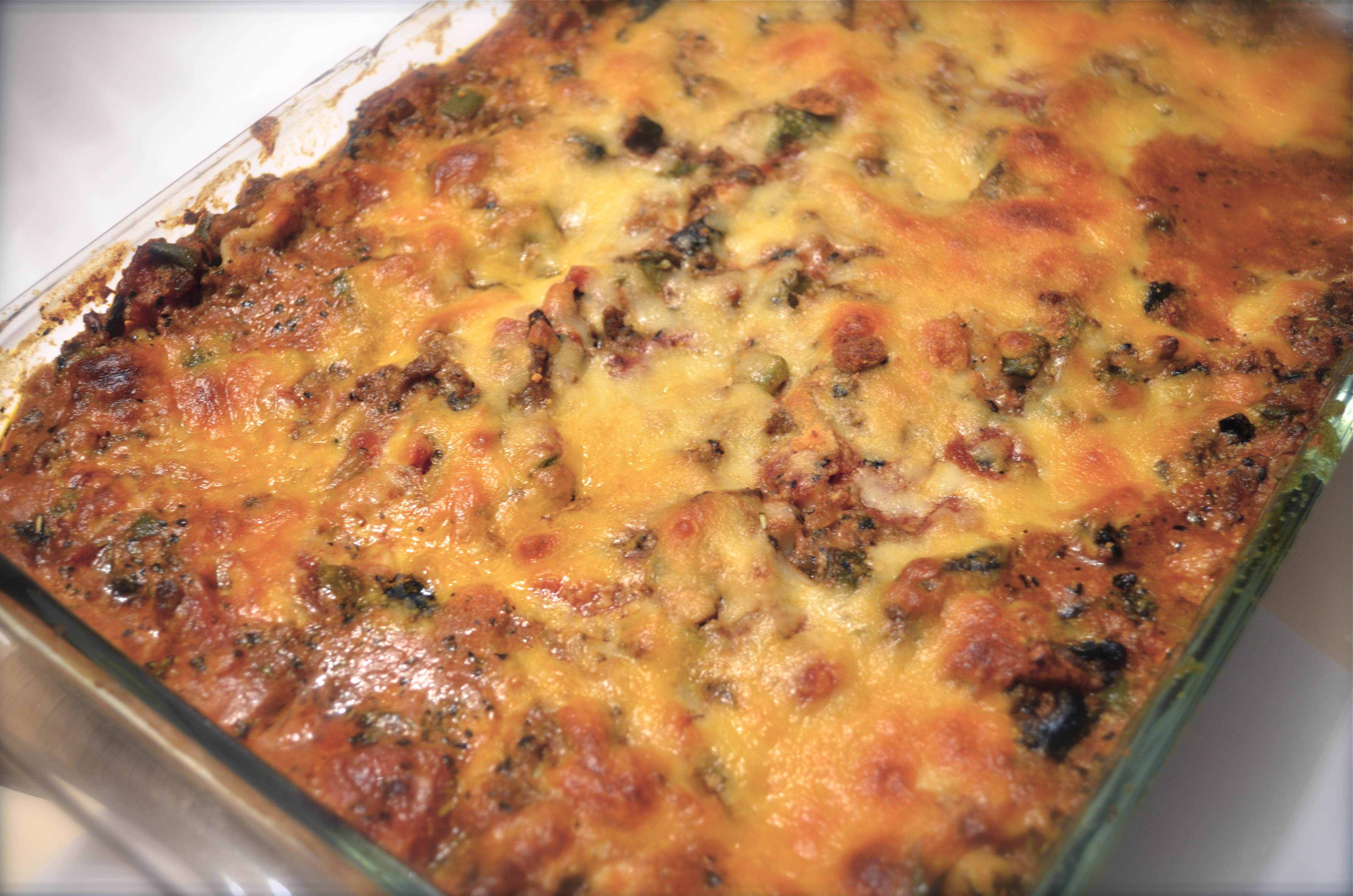 03-06-11 Lamb Brown Rice Lasagna