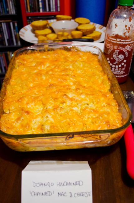 "Django Unchained: ""Chained Mac & Cheese"""