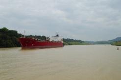 """Crimson Ride"" - Panama Canal"