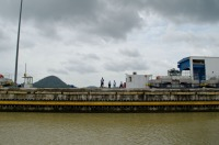 """On The Clock"" - Miraflores lock, Panama Canal"