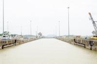 """Waiting Room"" - Miraflores lock, Panama Canal"