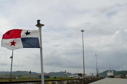 """""""Pride"""" - Miraflores lock, Panama Canal"""