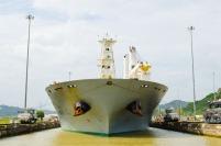 """Ill Arrival"" - Miraflores lock, Panama Canal"