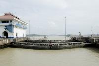 """It's All A Haze"" - Miraflores lock, Panama Canal"