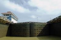 """""""100"""" - Miraflores lock, Panama Canal"""